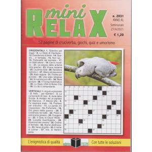Mini Relax - n. 2031- settimanale -27/4/2021