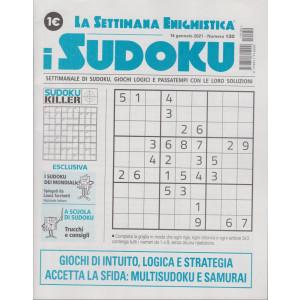 La settimana enigmistica - i sudoku - n. 130 - 14 gennaio 2021 - settimanale