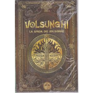 Mitologia Nordica-Volsunghi - La spada dei Volsunghi-  n. 41 - settimanale -9/7/2021- copertina rigida