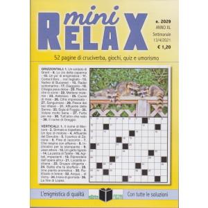 Mini Relax - n. 2029- settimanale -13/4/2021