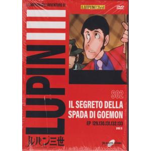 Le imperdibili avventure di Lupin III -Il segreto della spada di Goemon n. 31 - settimanale