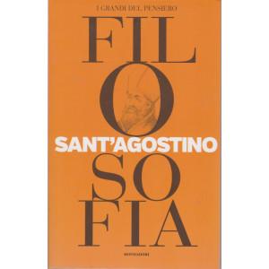 I grandi del pensiero - Filosofia - n. 6 - Sant'Agostino  - 23/4/2021 - settimanale - 159 pagine