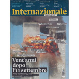Internazionale - n. 1426 - 10/16 settembre     2021 - settimanale -2 riviste