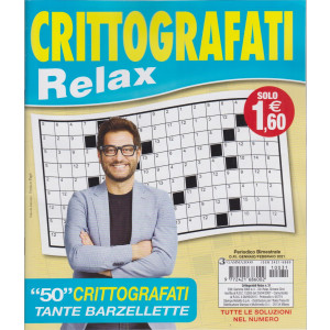Crittografati Relax - n. 31 - bimestrale -gennaio - febbraio 2021