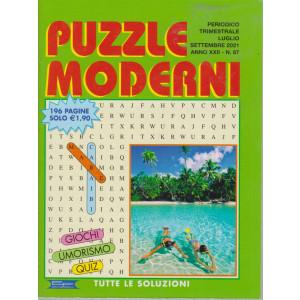Puzzle Moderni - n. 87 - trimestrale - luglio - settembre  2021- 196 pagine