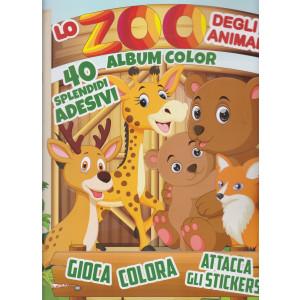 Toys2 Sticker Game - Lo zoo degli animali - Album color - n. 44 - bimestrale - 25 marzo 2021