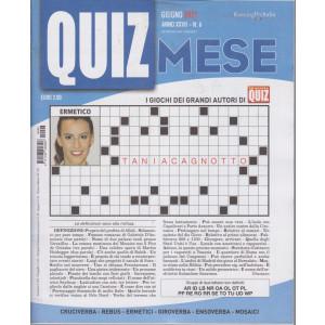 Domenica Quiz Mese - mensile n. 6 -giugno    2021