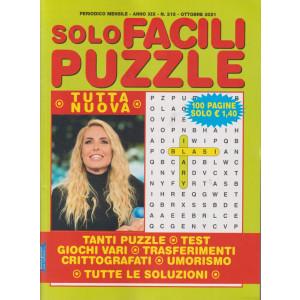 Solo Facili Puzzle - n. 215 - mensile - ottobre  2021 - 100 pagine
