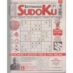 Settimana Sudoku - n. 818- settimanale -16 aprile    2021