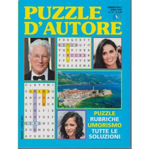 Puzzle D'autore - n. 74 - trimestrale - maggio - luglio 2021
