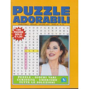 Puzzle  Adorabili - n. 50- bimestrale - maggio - giugno  2021 - 196 pagine