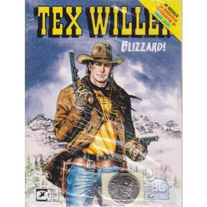 Tex Willer -Blizzard! - n. 30 - aprile   2021 - mensile