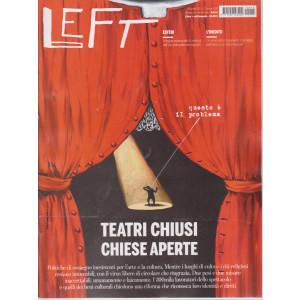 Left Avvenimenti - n - 15   - settimanale -  16 aprile - 22 aprile  2021- settimanale