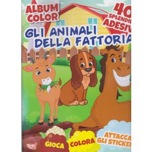 Toys2 Kids - Album color - Gli animali della fattoria - n. 64 - bimestrale - 21 gennaio 2021