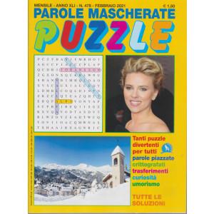 Parole mascherate puzzle - n. 478 - febbraio 2021 - mensile
