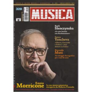 Musica -   n. 328 - mensile -luglio - agosto 2021