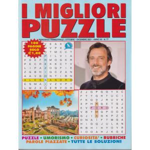 I migliori puzzle - n. 77 - trimestrale - ottobre - dicembre 2021 - 100 pagine