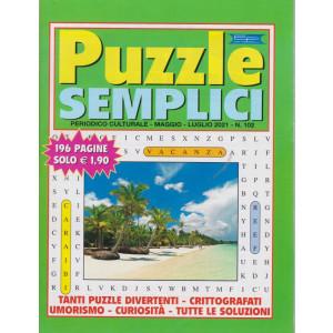 Puzzle semplici - n. 102 - maggio - luglio  2021 - 196 pagine