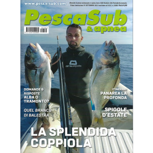 PescaSub & apnea - n. 384 -settembre    2021 - mensile