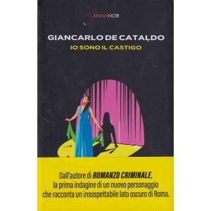 Anima Noir -Giancarlo De Cataldo - Io sono il castigo-  n. 16   -8/10/2021 - settimanale -446  pagine