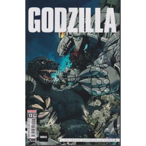 Godzilla - n. 13-   Il più grande mostro della storia 3 -  mensile -14/10/2021