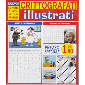 Crittografati illuistrati - n. 1 - bimestrale - giugno - luglio 2021