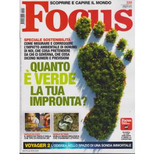 Focus - n. 339 - gennaio 2021 - mensile