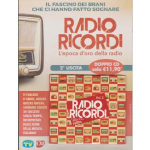 Cd Sorrisi Canzoni -n. 5-   Radio Ricordi - seconda  uscita - doppio cd -  29/1/2021- settimanale