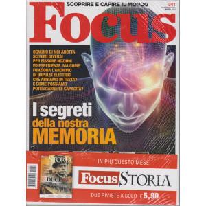 Focus + Focus Storia - n. 341 -marzo 2021- mensile - 2 riviste