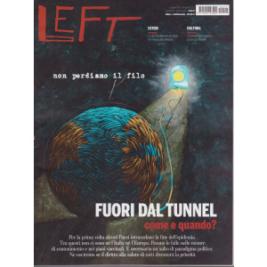 Left Avvenimenti - n - 13   - settimanale -  2 aprile - 8 aprile 2021