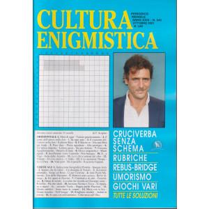 Cultura enigmistica - n. 340 -ottobre 2021 - mensile