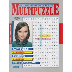 Multi Puzzle - n. 108 - trimestrale - agosto - ottobre 2021