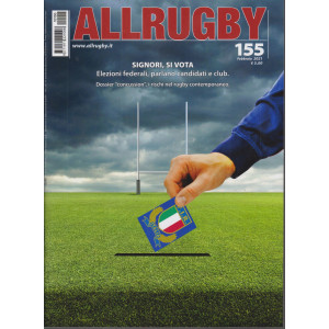 All Rugby - n. 155 - febbraio 2021 - mensile