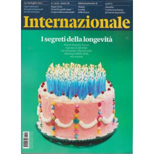 Internazionale - n. 1419 - 23/29 luglio    2021 - settimanale -