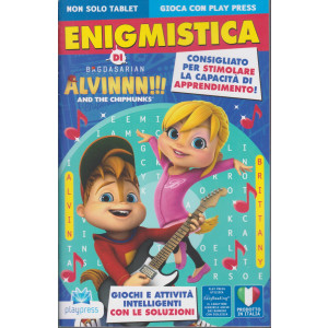 Enigmistica di Alvinnn!!!  - And the chipmunks - n. 10 - febbraio - marzo 2021- bimestrale