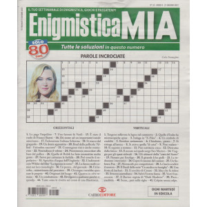 Enigmistica Mia - n. 25  -21 giugno   2021- settimanale