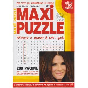Maxi Puzzle - n. 162 - gennaio - febbraio 2021- trimestrale - 200 pagine