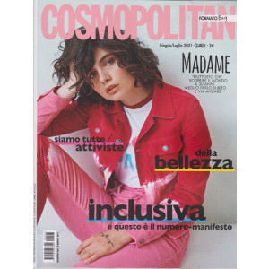 Cosmopolitan   pocket- n. 7 -giugno - luglio   2021 - mensile
