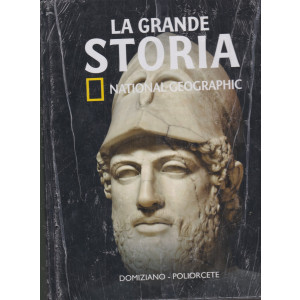La grande storia - National Geographic - Domiziano - Poliorcete- n. 30- settimanale -1/1/2021- copertina rigida