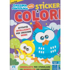Gallina puntolina - stickers e colori - n. 1 - marzo - aprile 2021 - bimestrale
