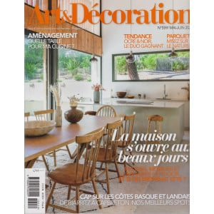 Art &  Decoration - n. 559  -maggio  2021 - mensile - in lingua francese