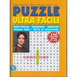 Puzzle  Ultra  Facili - n. 98 - bimestrale - febbraio - marzo 2021- 100 pagine