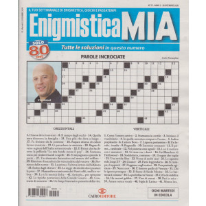 Enigmistica Mia - n. 52 - 28 dicembre 2020- settimanale