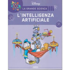 La grande scienza Disney -L'intelligenza artificiale    n. 15 - settimanale -17/7/2021