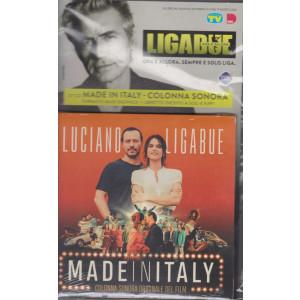 Cd Sorrisi collezione 2 - Ligabue - Made in Italy - 21° cd Colonna sonora - Formato digipack + libretto inedito - n. 34 - settimanale - settembre 2021
