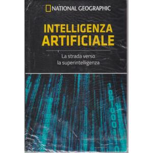 I grandi segreti del cervello - National Geographic -Intelligenza artificiale-  n. 23  - settimanale- 13/8/2021 - copertina rigida