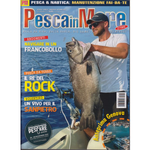 Pesca in mare - n. 10 -ottobre 2021 - mensile
