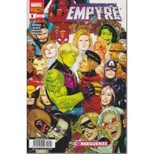 Marvel miniserie - n. 240 - Empyre - Conseguenze- quindicinale - 24  dicembre 2020