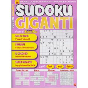 Sudoku Giganti - n. 16 - maggio - giugno  2021 - bimestrale