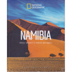National Geographic - Namibia - Rossi deserti e parchi nazionali-  n. 37 - 14/5/2021 - settimanale - copertina rigida